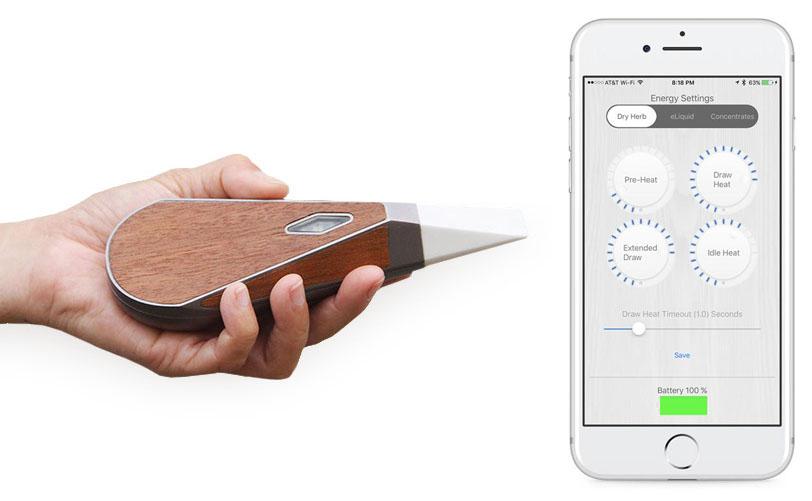 Вапорайзер Loto Lux - умное приложение для смарфонов